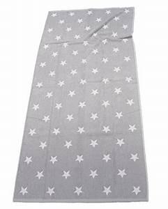 Cawö Handtuch Sterne : xxl lasa strandtuch 85x200cm sterne handtuch 6 farben auswahl baumwolle frottier farbe grau ~ Buech-reservation.com Haus und Dekorationen