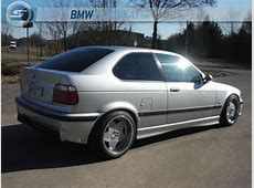 BMW e36 compact on cult classic Borbet A wheels BMW E36