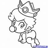 Coloring Peach Pages Baby Mario Draw Toad Rosalina Characters Print Daisy Step Dragoart Drawing Peaches Bros Printable Timeless Miracle Von sketch template