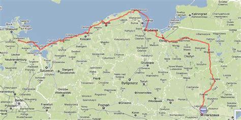 Polen Ostsee Karte