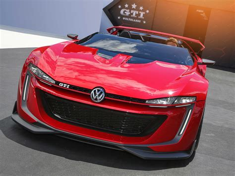 Volkswagen Car : Vw Golf R 400 And Gti Roadster Concepts At La Auto Show