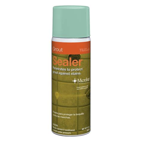 tilelab grout and tile sealer spray miracle sealants 32 oz matte finish sealer color enhancer