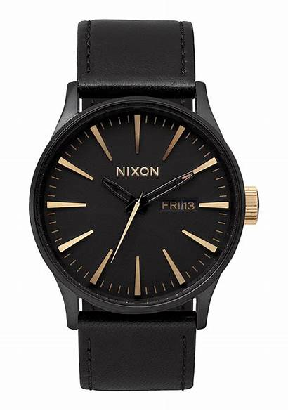 Leather Nixon Sentry Watches Strap A105 Matte