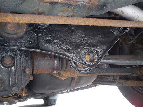 Rubberized Undercoat For Rusty Subframe?