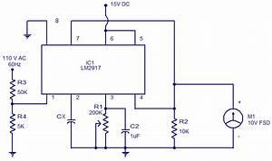 Capacitance Meter Using Lm2917 Circuit Diagram World