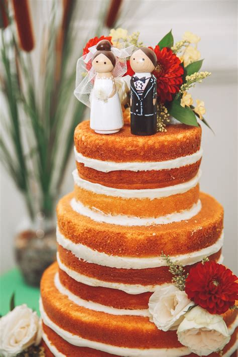 inspiring tales of diy wedding cakes
