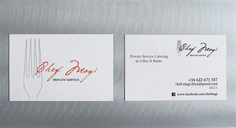 creative chefs business card templates psd word ai