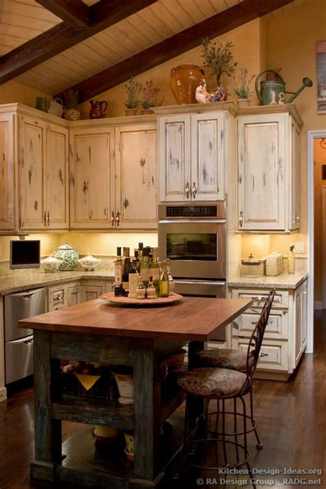 decorating a kitchen island country kitchen with antique island cabinets decor