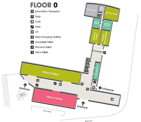 floorplan ground floor herbert gallery museum
