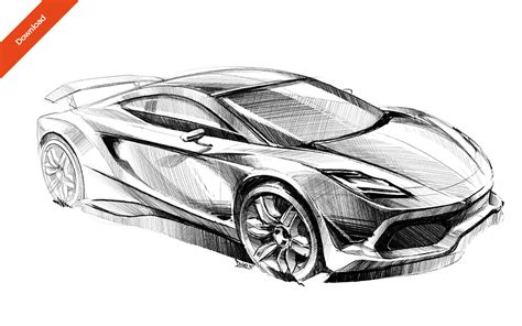 Car Sketches Images,