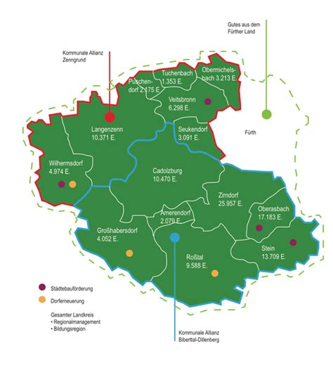 Free access to maps of former thunderstorms. Fördergebiet - Landkreis Fürth