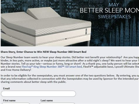 select comfort corporation select comfort corporation better sleep month sweepstakes