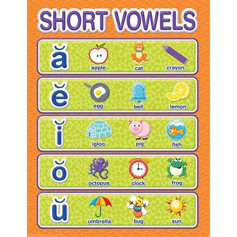 color  world short vowels chart eureka school