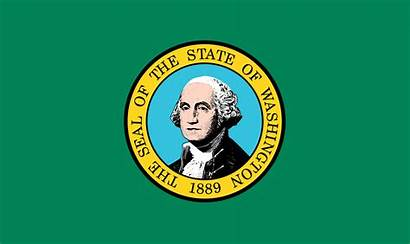 Washington Capital Flag Wikipedia States Circular Seal