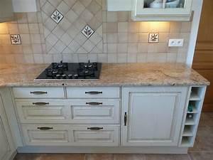 Plan De Travail Granit : plan de travail marbre ou granit cuisine naturelle ~ Dailycaller-alerts.com Idées de Décoration