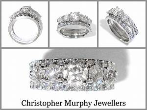 double wedding ring 216 christopher murphy jewellers With double wedding ring