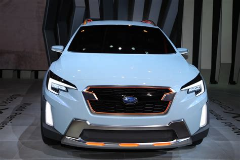 subaru xv concept previews  crosstrek carscoops