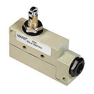 mars air doors roller plunger door switch 120 208v air