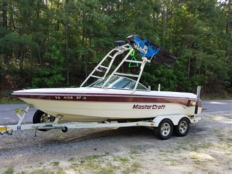 Mastercraft Boats For Sale In Virginia by 2000 Mastercraft 205v For Sale In Richmond Virginia