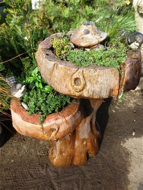 brilliant birdbaths  purposed flea market gardening