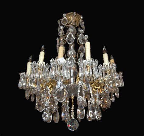 baccarat bronze chandelier for sale antiques
