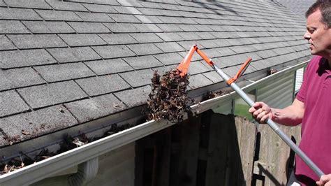 gutter sense review diy gutter cleaning tools