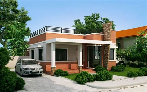 rommell  storey modern  roof deck pinoy eplans