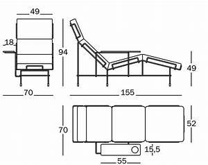 Dimension Chaise Standard : traffic chaise longue by magis design konstantin grcic ~ Melissatoandfro.com Idées de Décoration