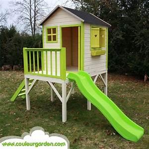 Cabane Toboggan Pas Cher : cabane de jardin avec toboggan pas cher les sports extremes ~ Dailycaller-alerts.com Idées de Décoration