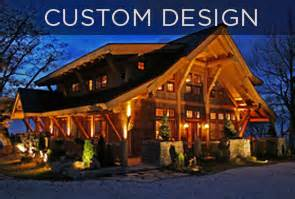 custom plans mosscreek luxury log homes timber frame homes