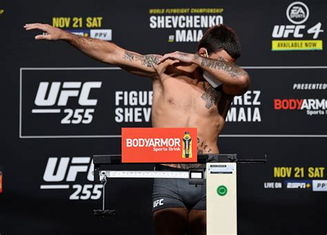 UFC 255 Weigh-ins: Mike Perry Misses Weight - MMASucka.com