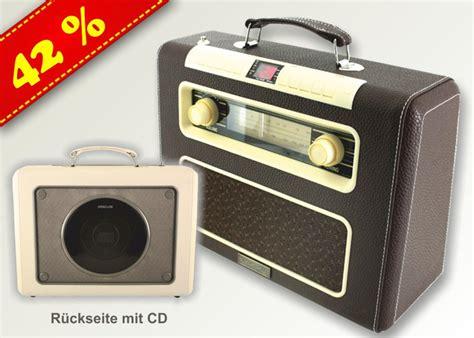 radio mit cd nostalgie koffer radio mit cd versandhaus jung
