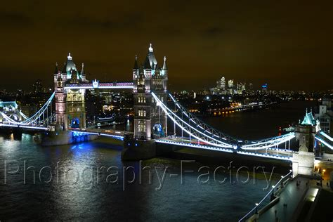 commercial night photography  central london