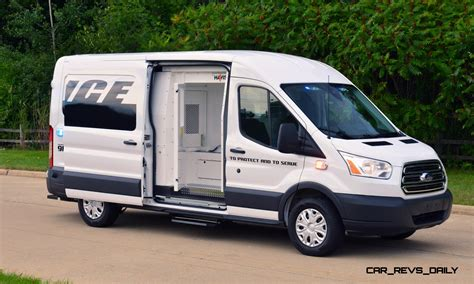 ford transit prisoner transport vehicle