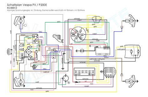 vespa px wiring diagram webtor me
