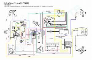 Vespa Px 125 E Wiring Diagram