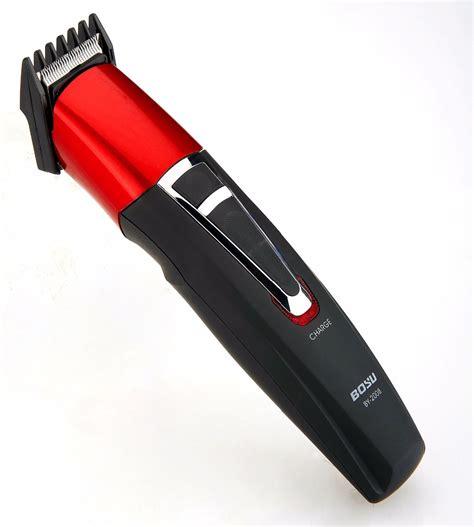 adjustable cordless electric rechargeable men beard razor