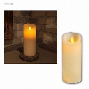 Led Kerzen Mit Timerfunktion : echtwachs kerze mit bewegter led flamme wachs kerzen candle flammenlos flackernd ebay ~ Whattoseeinmadrid.com Haus und Dekorationen