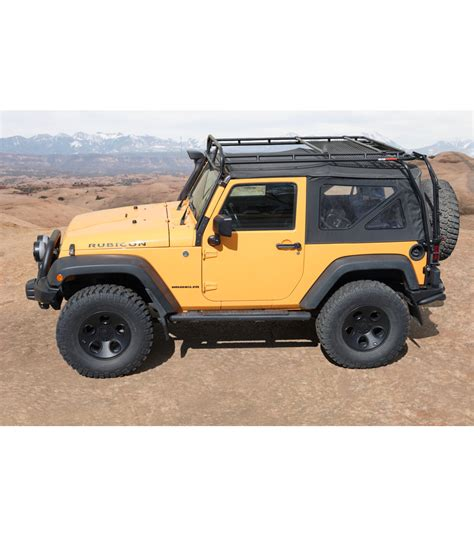 jeep roof rack jeep jk 2door 183 ranger rack 183 multi light setup gobi racks