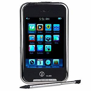 Visual-Land 8GB MP3 Player with 2.8 Touch Screen ...