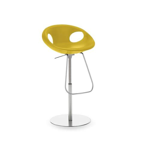 chaise de bar reglable up stool 907 51 chaise de bar hauteur réglable tonon