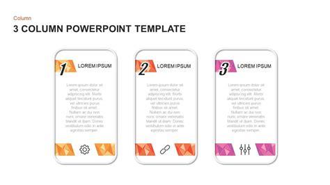 column powerpoint templates  keynote diagrams