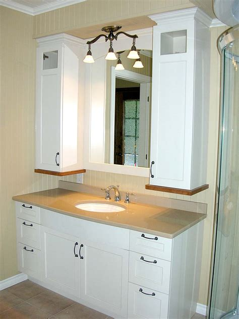 armoire salle de bain clair les armoires inc