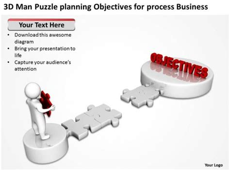 man puzzle planning objectives  process business