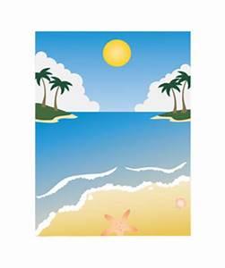 Clip Art Beach Scenes - ClipArt Best