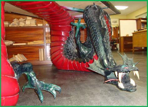 dragon spirit desk asian furniture seattle