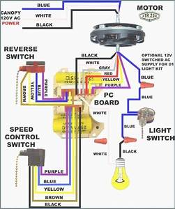 Hunter Ceiling Fan Switch Wiring Diagram