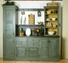 kitchen furniture hutch rustic kitchen designs pictures and inspiration