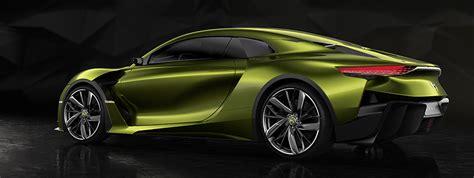 Ds E-tense Concept Car