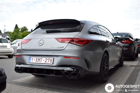 The exterior of the new cla 45. Mercedes-AMG CLA 45 S Shooting Brake X118 - 16 June 2020 ...